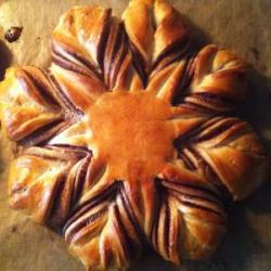 Nutella Star Bread PR