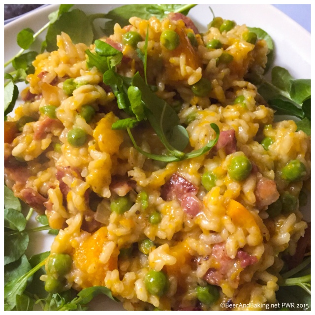 Bacon and Butternut Risotto