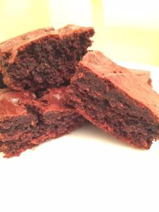 @frenchcritter chocolate and orange brownies
